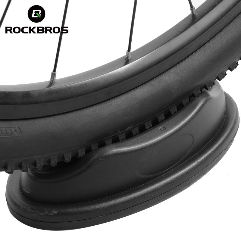 ROCKBROS Road Bike Front Wheel Block Non-slip Support Block Bike Turbo Indoor Sports Trainer Riser Block Cycling Accessories