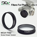 Lens Filter Mirror Polarizer MCUV Filter Light Microscopy For DJI Phantom 4 3 Professional Advanced drone parts accessories