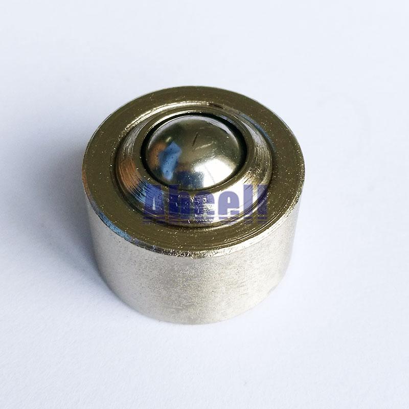 все цены на 5pcs 12mm furniture bearing steel ball roller KSM-12 Swivel Round Ball Caster Silver Bull Wheel Universal Ball Transfer Unit онлайн
