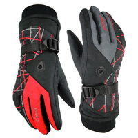 Men And Women Snowboard Gloves Waterproof Breathable Ski Gloves Outdoor Sports Winter Warm Windproof Motorcycle Gloves
