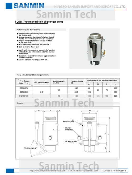 2017 Sanmin Lubrication Pump-14 -