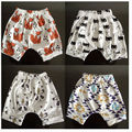 2016 new male and female baby child cotton casual harem pants leggings triangle, arrows,  pattern short  pants