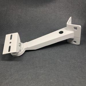 Image 4 - Алюминиевый кронштейн для камеры видеонаблюдения Регулируемый цилиндрический полюсный кронштейн обруч прямоугольный наружный настенный угловой кронштейн аксессуары для CCTV