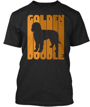 Divertida camiseta de perro Vintage Goldendoodle F camiseta de moda elegante Hipster Cool Tops