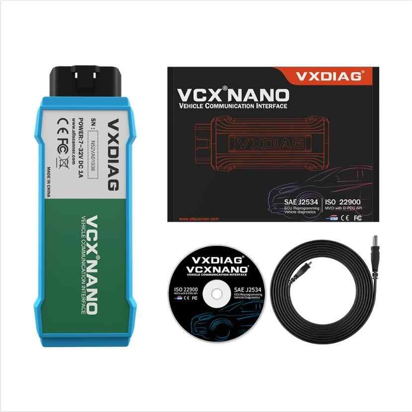 VXDIAG VCX NANO 6154 ل ODIS V5.1.6/ V5.1.5 OBD2 WIFI سيارة أداة التشخيص الماسح الآلي 6154A ل VW/سكودا/أودي/سيات
