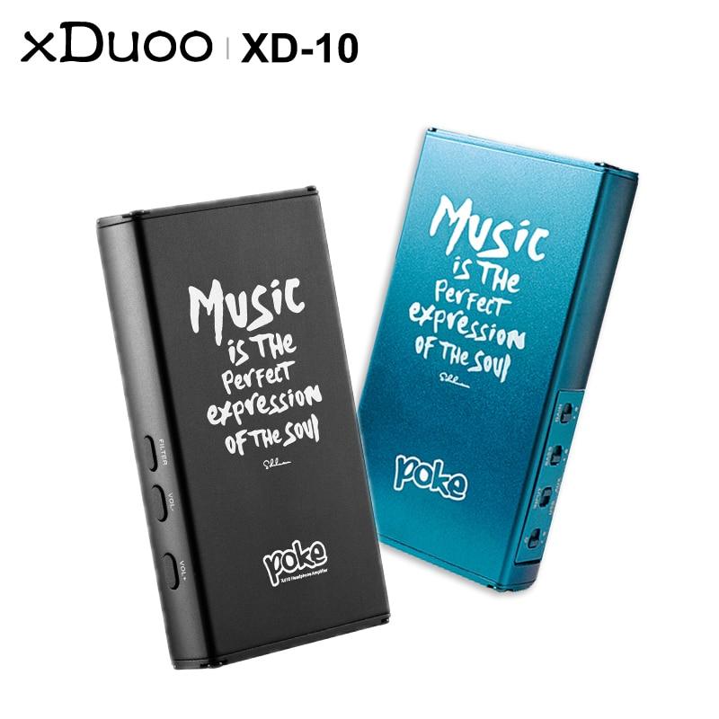 XDUOO poke XD 10 XD10 HIFI Audio Pocket full featured Portable DAC AMP Headphone Amplifier USB DAC support DSD256 32Bit/384KHz-in Headphone Amplifier from Consumer Electronics    1