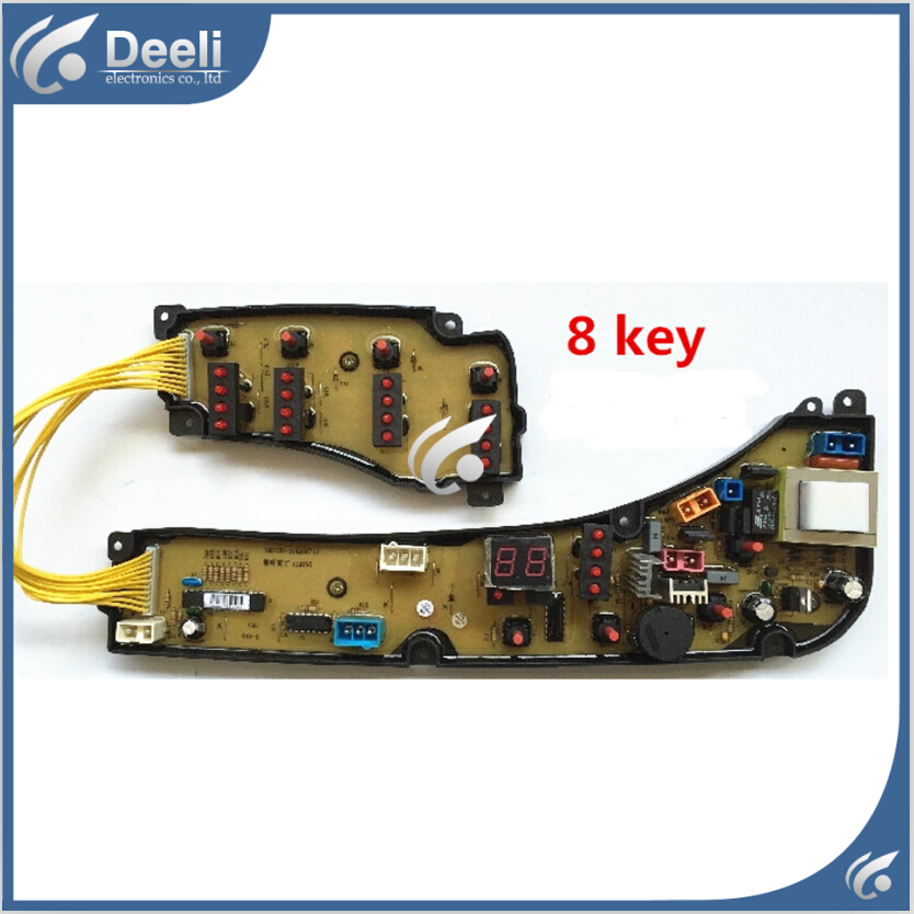 Free shipping 100% tested for washing machine board XQB52-912G XQB55-9905G MB5010 motherboard set on sale 100% tested for washing machine board wd n80051 6871en1015d 6870ec9099a 1 motherboard used board