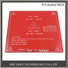 Envío libre!! RepRap mendel PCB Climatizada MK2B para la cama caliente impresora Mendel 3D