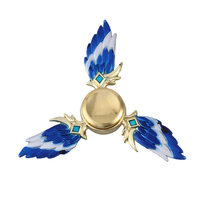 Spinner King of Glory Wing Tri-Spinner   Spinner Triangle Metal Finger Focus Toy ADHD Autism Kids/Adult