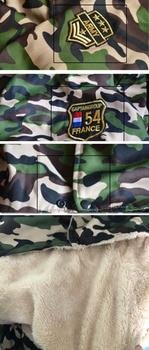 Camouflage Winter Jumpsuit  4