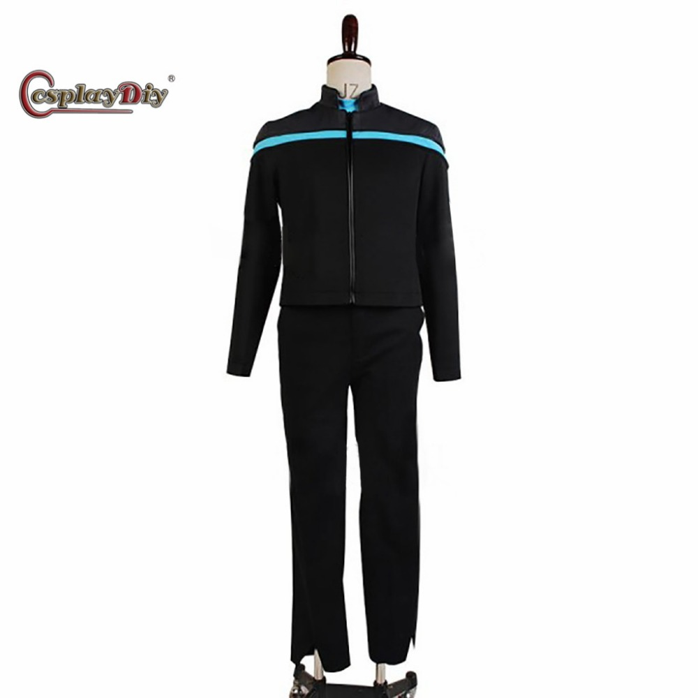 Cosplaydiy Star Trek Cosplay Costume Odyssey Science Uniform Adult Men Halloween Carnival Costumes Custom Made D0406