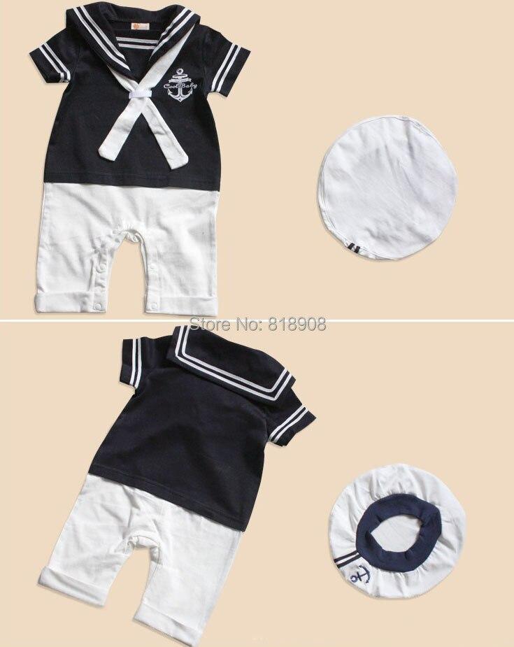 Navy Sailor ոճը ներկայացնում է մանկական - Կարնավալային հագուստները - Լուսանկար 3