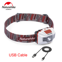 Naturehike Outdoor Lighting 150LM 4 Modes IPX6 Waterproof USB Charge LED Light Fishing Hiking Camping Cycling