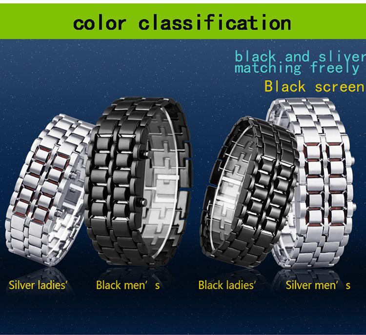 Aidis youth sports watches waterproof electronic second generation binary LED digital men's watch alloy wrist strap watch 20