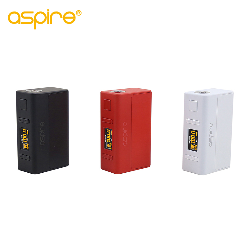 Electronic Cigarette Mod Aspire NX100 Mod 75W/100W TC Box Mod Compatible with 18650 Battery (Not Include)