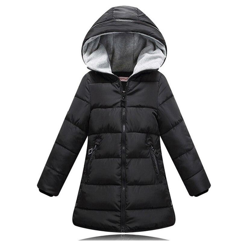 efe0326e57b7 2018 spring Winter jacket for girls clothes Cotton Padded Hooded Kids Coat  Children clothing girl Parkas enfant Jackets   Coats - aliexpress.com -  imall.com