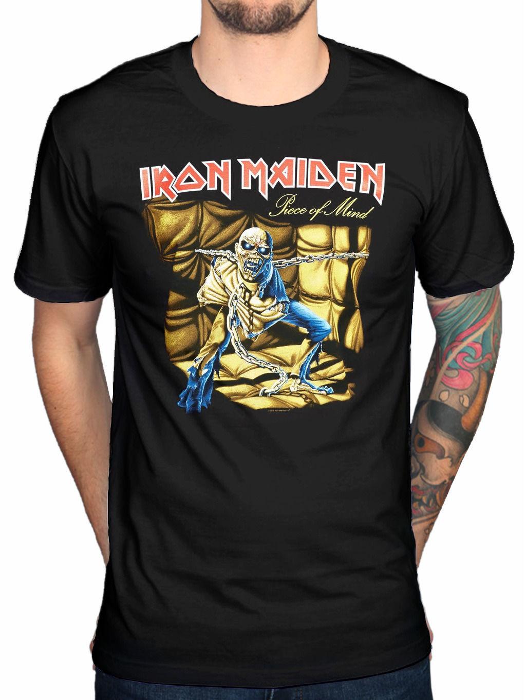 Shirt design book - 2017 Lato Kreatywny Iron Maiden Kawa Ek Umys U I Bluzy Z Nadrukami Ksi Ki Z Souls Killers Gdzie Merch Projekt T Shirt Topy Mod
