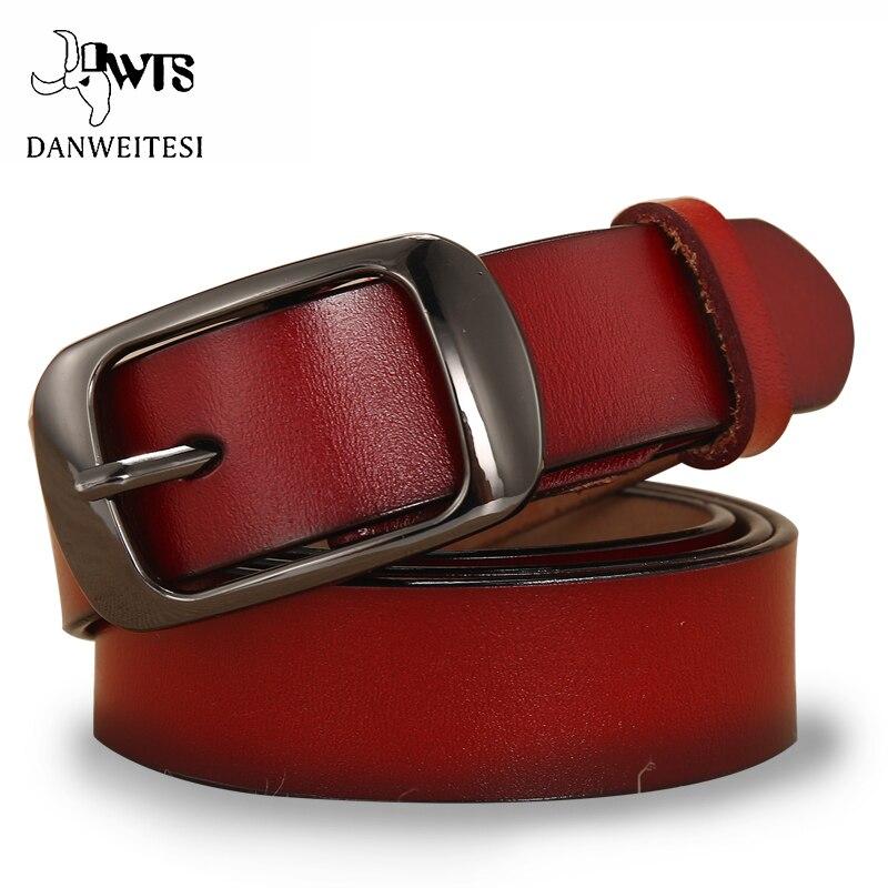 827c4bd8a58e  DWTS  ceinture femelle véritable ceintures en cuir pour femmes designer  marque de ...