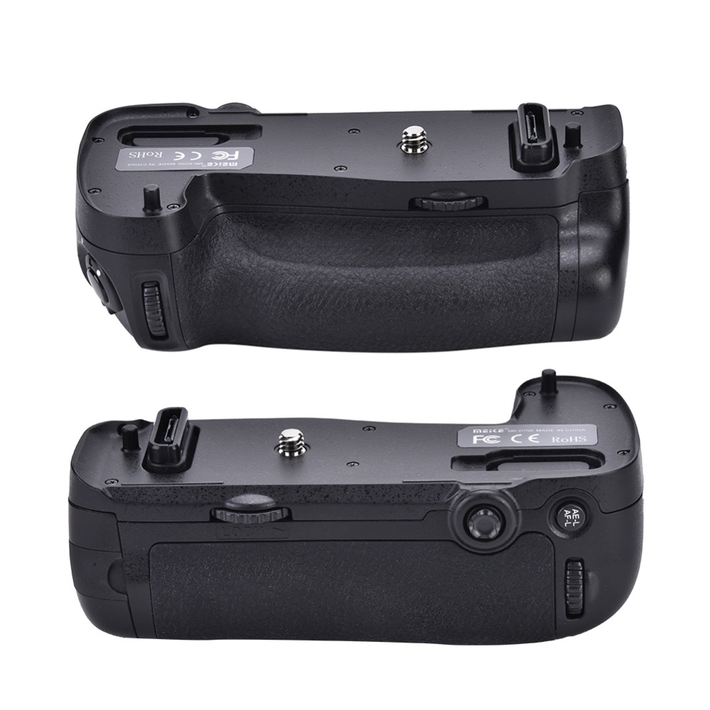 Meike Professional Battery Grip for Nikon D750 DSLR Camera Replacement New 2018 meike mk dr750 mb d16 built in 2 4g wireless control battery grip for en el15 nikon d750 dslr camera
