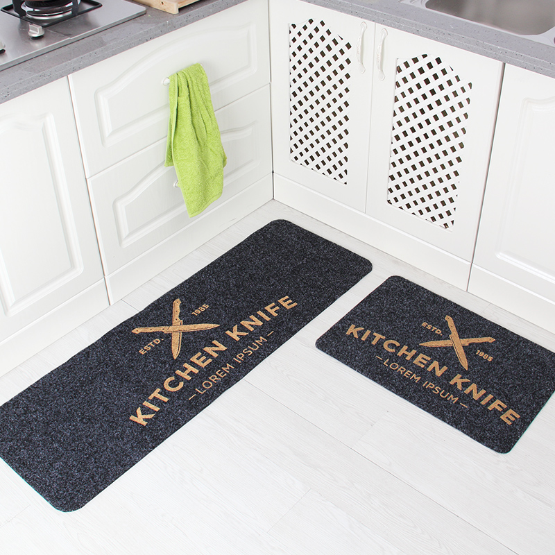 40X60+40X120CM/Set Absorb Water Kitchen Carpet Skid Bath