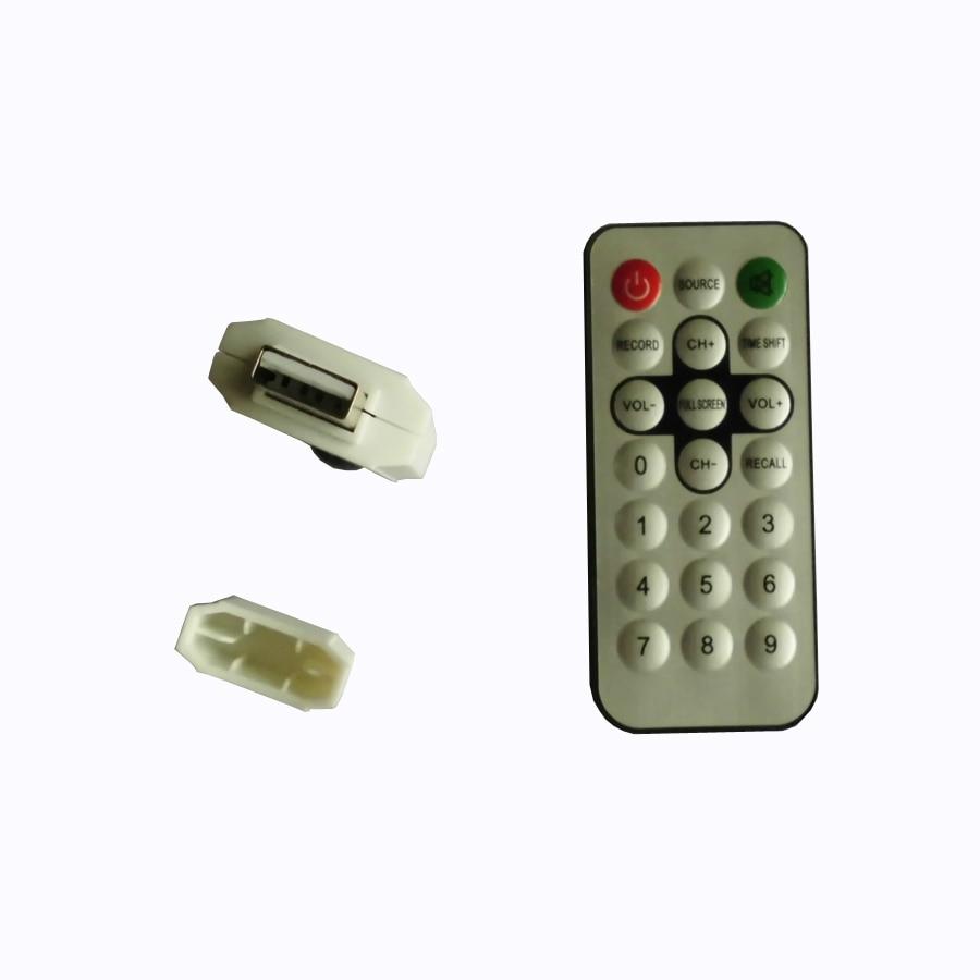 Digital TV DVB T2 USB Stick Tuner me antenë Remote Control USB2.0 - Audio dhe video në shtëpi - Foto 5