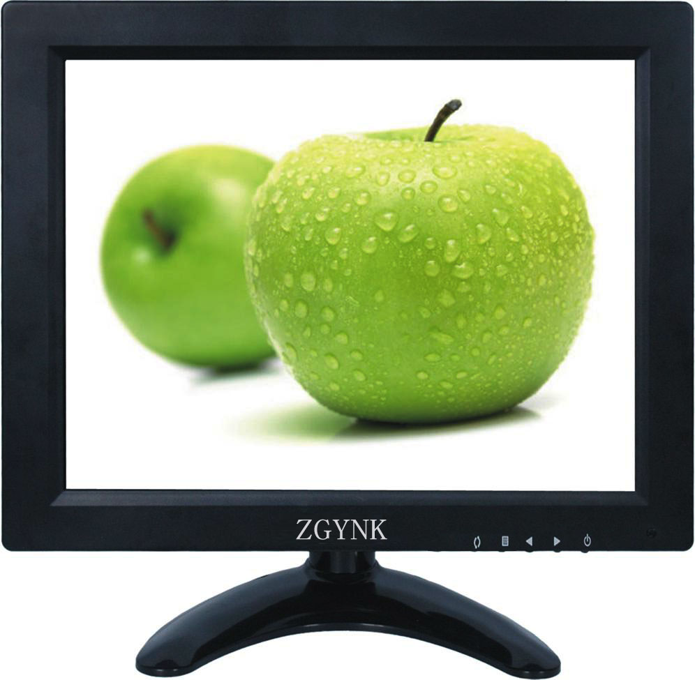 9.7 inch HDMI BNC VGA industrial security LCD monitor High-definition computer monitors zgynk 10 1 inch open frame industrial monitor metal monitor with vga av bnc hdmi monitor