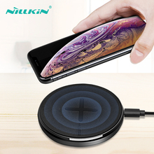 NILLKIN Fast Charging Wireless Charger For iPhone 8 Xr Xs Max X Mini 10W Wireless Charging Pad For iPhone 8 Plus Xr qi Chargers