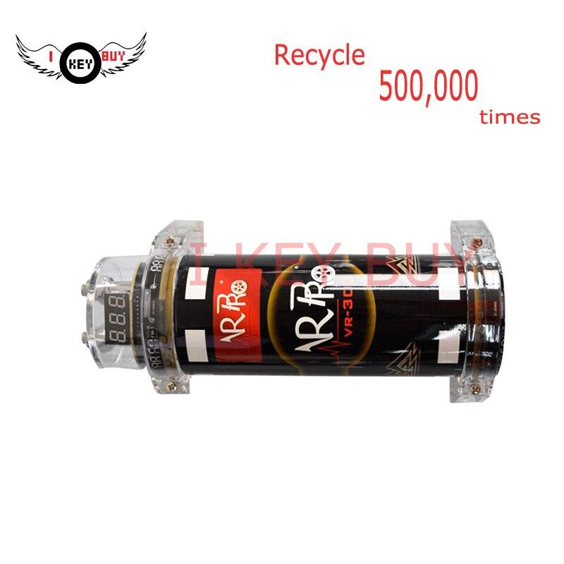 I Key Amplificador 3.0 Farad | Capacité de voiture, tension 10-14v, alimentation électrique, condensateur Audio numérique hybride, amplificateur de voiture