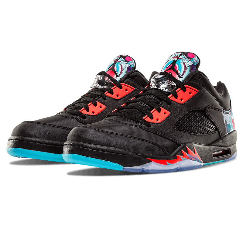 wholesale dealer 97224 95cd2 Nike Air Jordan 5 Retro Low CNY Chinese Kite Men Basketball Shoes,New  Arrival Outdoor Comfortable Sports Shoes 840475 060-in Basketball Shoes  from Sports ...