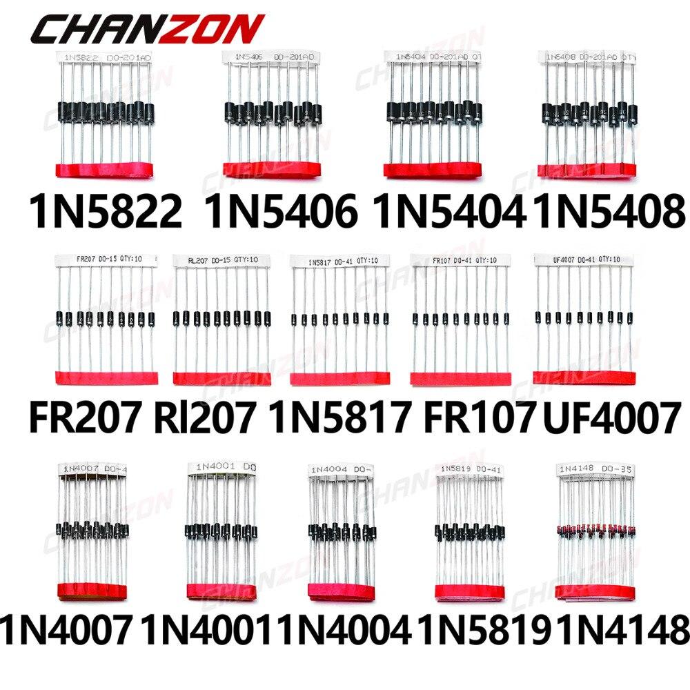 1n4148 High Speed diodo 100v 200ma carcasa do-35 Taiwan Semiconductor
