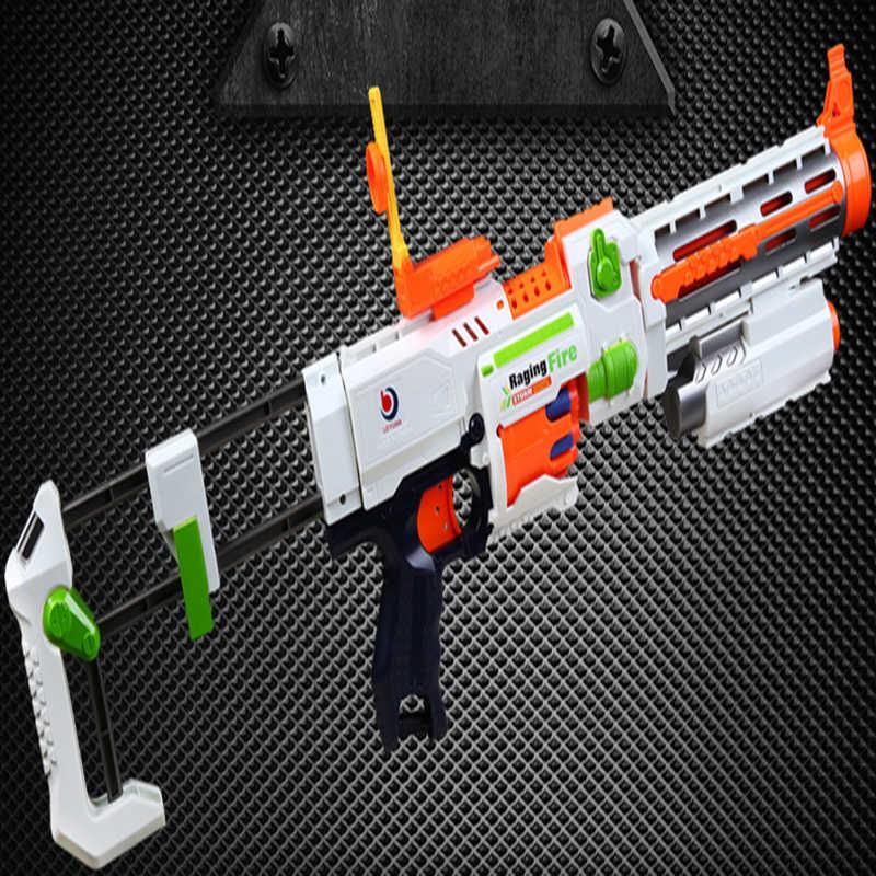 البلاستيك الاطفال بندقية الكهربائية انفجار رصاصة طرية بندقية دعوى ل Nerf الرصاص نبال الناسف لعبة بندقية الأطفال أفضل هدايا عيد الميلاد لعبة