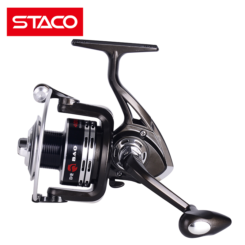 STACO XY1000-6000 Metal Spinning Fishing Reel Jigging Reel Saltwater Freshwater 11BB Seat Ocean Boat Fishing Stream Reel Carp