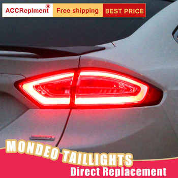 New LED Taillights Assembly For Ford Mondeo 2013-2015 LED Rear Lamp Brake Reverse Light Rear Back Up Lamp DRL Car Tail lights - DISCOUNT ITEM  17% OFF All Category
