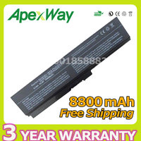 Apexway 12 cell battery for Toshiba Satellite L630 L310 L311 L312 L323 L515 L515D L600 L600D L635 L640 C650 C655 C655D C660