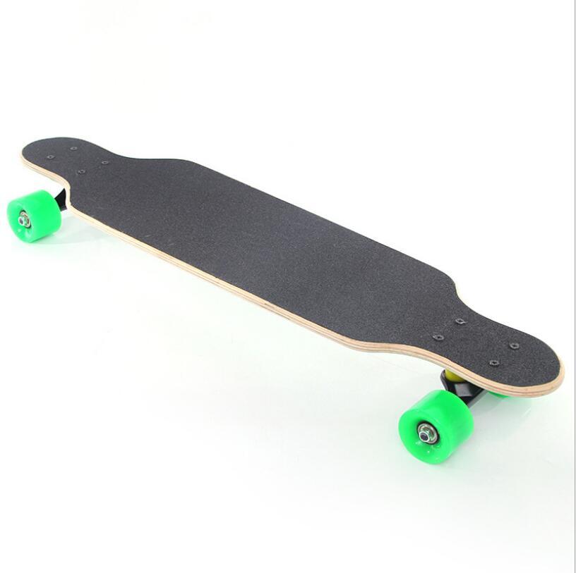 Image 2 - 80*20*11cm Professional Dancing Longboard Deck Freestyle Street Skateboard Canadian Maple Longboard Cruiser 4 Wheels Skate-in Skate Board from Sports & Entertainment