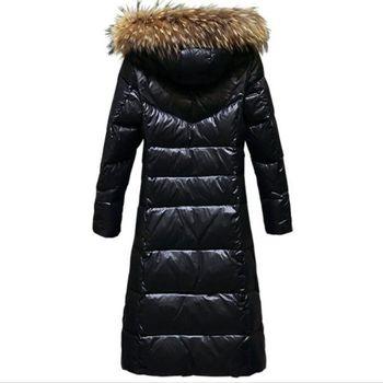 New 2018 Women's wWinter Down Jackets Warm Duck Down Women Thicken Hooded Long Parka Fur Coat Female Jacket coat