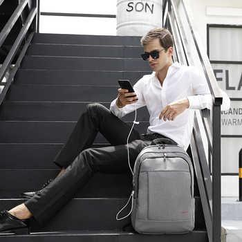 Tigernu Laptop Backpack Bag Set with USB Charging Messenger Men\'s Bag Splashproof Shoulder Bags 15.6 Mochila Male Travel Bags