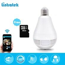 hot deal buy howell bulb light wireless ip camera wi-fi fisheye 960p 360 degree full view mini cctv camera 1.3mp home security panoramic cam