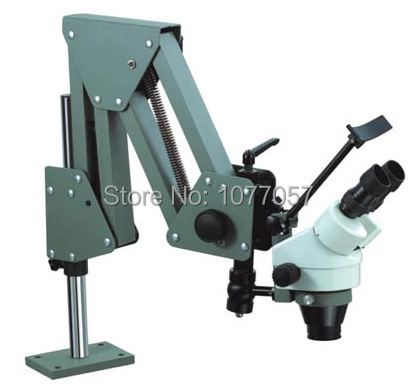 Factory Direct Sale , 3.5X-90X Jewelers Microscope Gem Diamond Setting Microscope jewelry microscope with Spring Flex Stand direct factory price of a box slides 50 with microscope cover glass 100 frosted edge