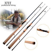 YIYI 2.1M 1 Tip Spinning Baitcasting Fishing Rods M Actions 5-25g Lure Weight Casting Lure BASS Fishing Rod