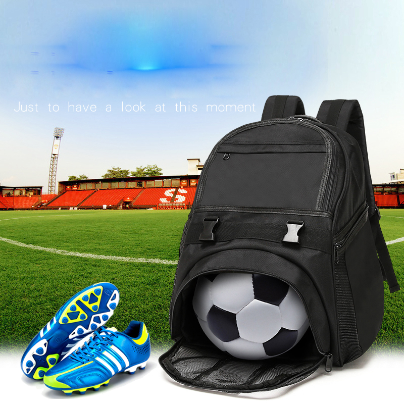 Football Duffel Backpack Luggage Gym Sports Bag Large Tote  with Shoe Compartment Backetball  Compartment