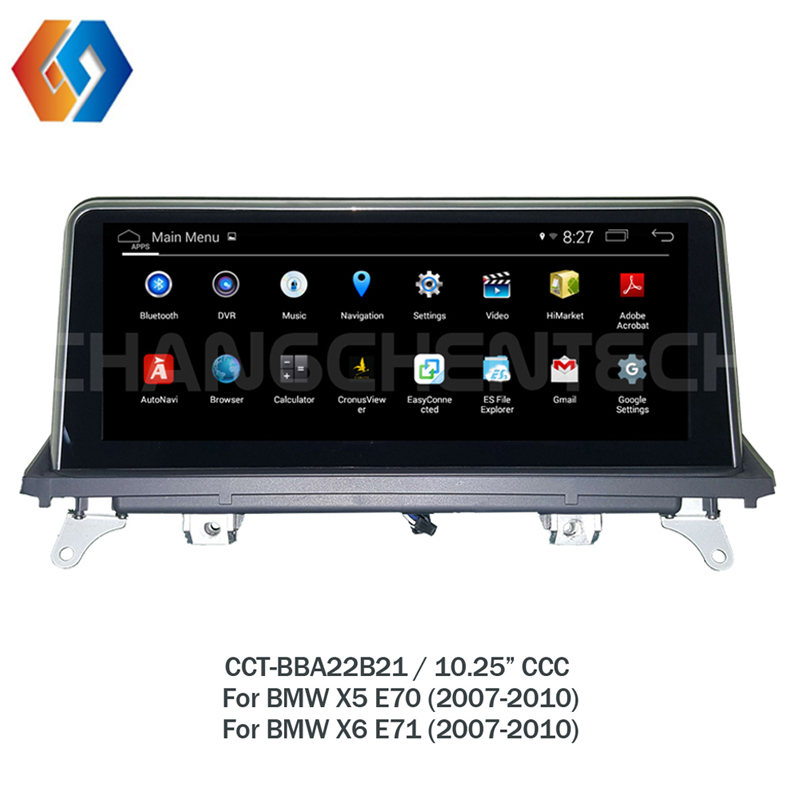 New Android Car GPS Multimedia For BMW X5 E70 X6 E71 2007