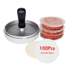 New Aluminum Meat Tools Non-Stick Chef Cutlets Hamburger Forms Hamburger Maker Burger Mould Press For Cutlets Burger Maker Mould