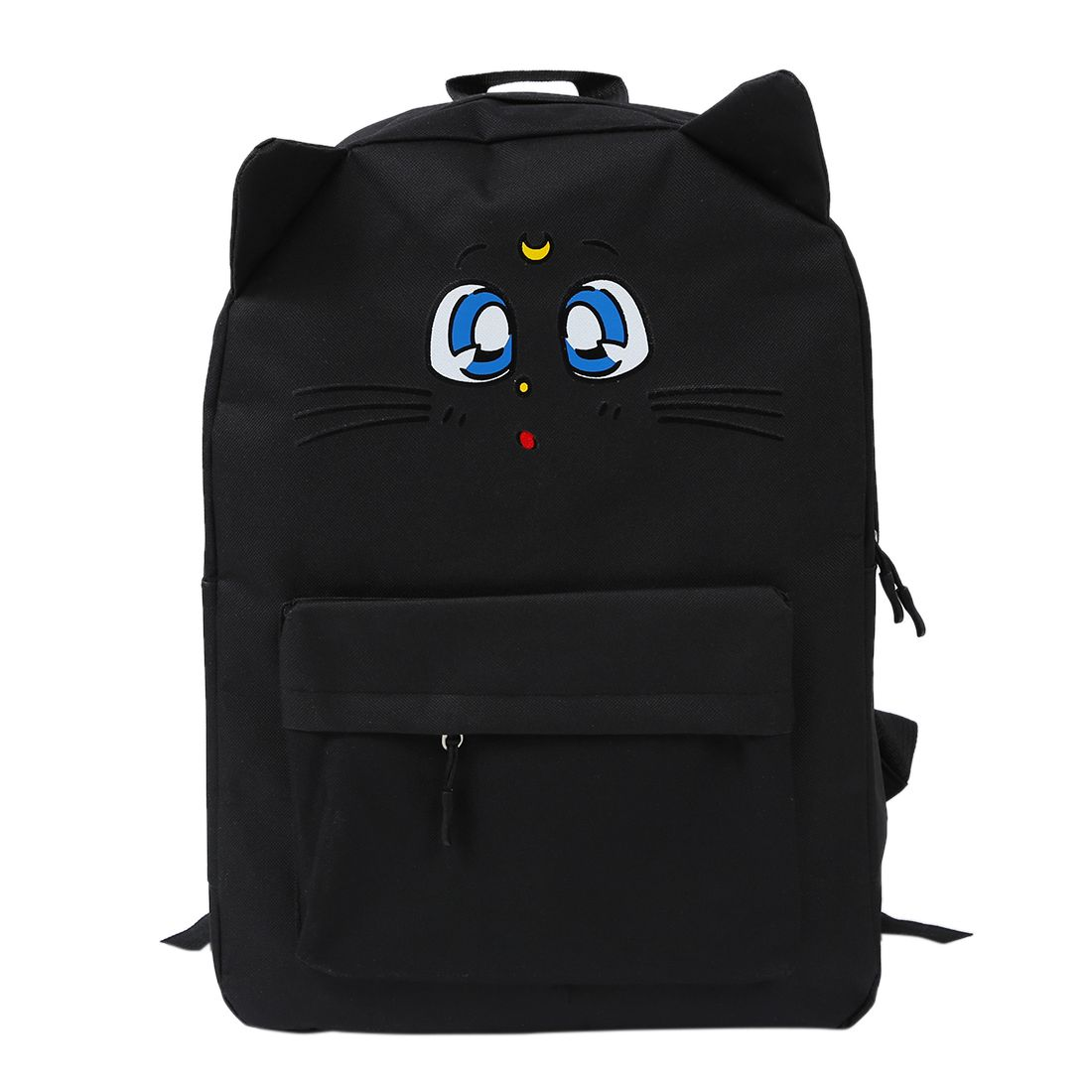 Hot Fashion Orecchiette Backpack Cartoon Nuna Cat Printing Canvas Backpack School Bag Sweet Girl Travel Bag