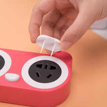 1Pcs Environmental ABS Power Socket Outlet Plug 2 holes or 3 holes Protective Cover Anti electric Protection Baby Safety