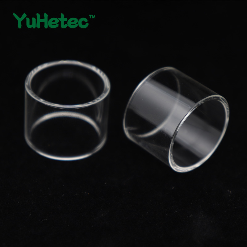 2PCS Original YUHETEC Replacement Glass TUBE for <font><b>Solomon</b></font> <font><b>2</b></font> <font><b>RTA</b></font> Tank 3.5ml image