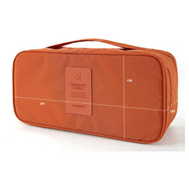 Soutien-gorge sous-vêtements sacs de voyage valise organisateur femmes sacs de voyage organisateur de bagages pour Lingerie maquillage toilette lavage sacs pochette