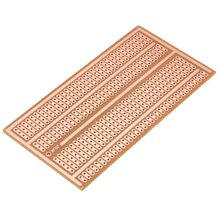 Wholesale universal 5x10cm Solderless PCB Test Breadboard Single Side Copper Prototype Paper Tinned Plate 2-3-5 Joint holes DIY