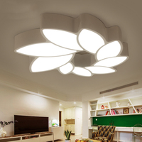 A1 Simple modern flower shaped living room lamp LED ceiling lamp, creative personality bedroom light book room lamp