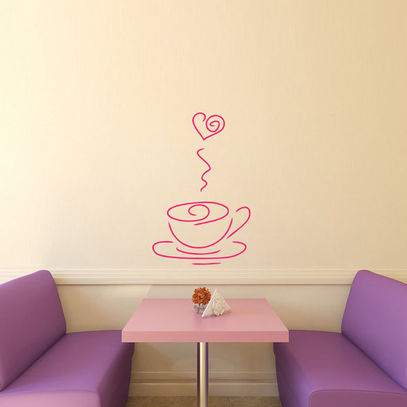 popular restaurant wall decals-buy cheap restaurant wall decals